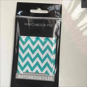 Matchbook files